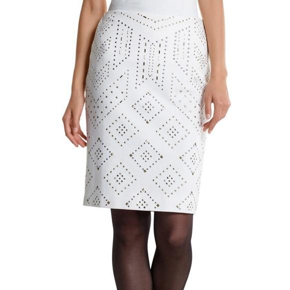 White House Black Market Dresses & Skirts - WHBM  Studded Skirt size 2